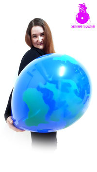 "QUALATEX 16"" Globe"