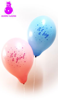 "BELBAL B120 ""It's a Boy"" / ""It's a Girl"" (10er Pack)"