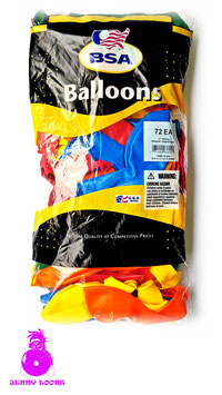 "BSA 17"" Outdoor (72 Balloons)"