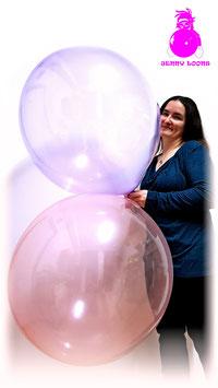 """UNIQUE 24"""" (Bubble & Macaroon)"""