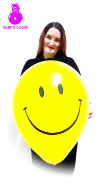 "QUALATEX 16"" SMILEY"
