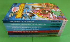 Digedags Mosaikbücher Weltraumserie Nr. 25 bis 73