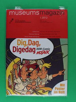 Digedags Museumsmagazin 2012 neuwertig & eingeschweißt