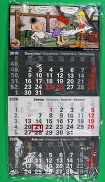 Dreimonatskalender Abrafaxe  von 2020 neuwertig & eingeschweißt