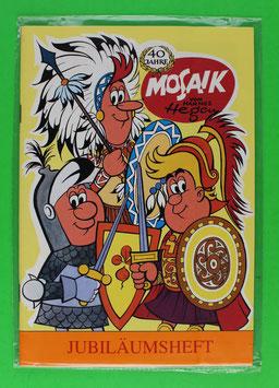 Mosaik Beilage zur Jubiläumskassette I
