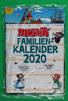 Familienkalender Mosaik von 2020 neuwertig & eingeschweißt
