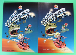 Abrafaxe Space Surfer 1. und 2. Auflage