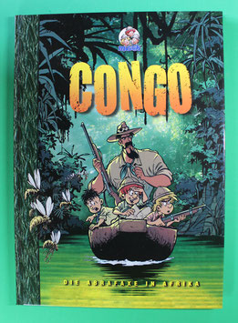 Die Abrafaxe in Afrika - Congo 1. Auflage 2000