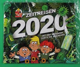 Kalender Abrafaxe  Mit den Abrafaxen durch die Geschichte von 2020 neuwertig & eingeschweißt