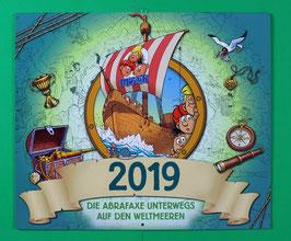 Kalender Abrafaxe   Die Abrafaxe unterwegs auf den Weltmeeren von 2019  neuwertig & eingeschweißt