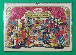 Digedag-Kalender 1994 neuwertig & eingeschweißt