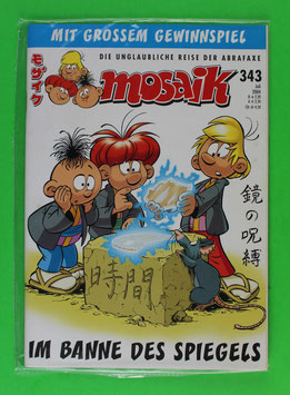 Abrafaxe Variant-Cover Nr. 343 Topzustand & eingeschweißt