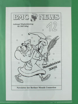 Fanzine BMC News Nr. 12 2005 Newsletter der Berliner Mosaik Connection neuwertig