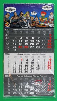 Dreimonatsplaner Abrafaxe  von 2008 neuwertig & eingeschweißt