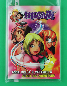 Mosaik Anna, Bella & Caramella - Buch - Start ins Abenteuer - neuwertiger Zustand