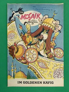 Original Mosaik der Digedags Fehldruck Nummer 218