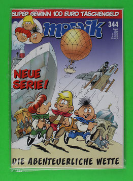 Abrafaxe Variant-Cover Nr. 344 Topzustand & eingeschweißt