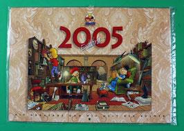 Kalender Abrafaxe   Die Abrafaxe und die Welt der Bücher  von 2005  neuwertig & eingeschweißt