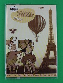 Fanzine Mosa-icke Nr. 7  2004  neuwertig & eingeschweißt