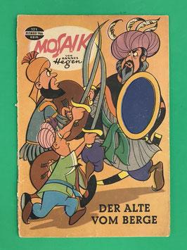 Original Mosaik der Digedags Fehldruck Nummer 121