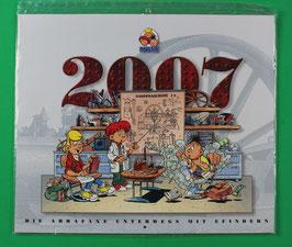 Kalender Abrafaxe   Die Abrafaxe unterwegs mit Feinden  von 2007 neuwertig & eingeschweißt