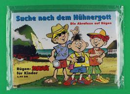 Werbebroschüre Die Abrafaxe auf Rügen SUCHE NACH DEM HÜHNERGOTT neuwertig und in Folie eingeschweißt