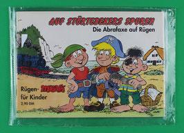 Werbebroschüre Die Abrafaxe auf Rügen AUF STÖRTEBEKERS SUPUREN neuwertig und in Folie eingeschweißt