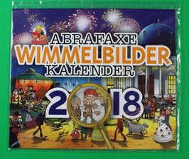 Kalender Abrafaxe  Wimmelbilderkalender  von 2018  neuwertig & eingeschweißt