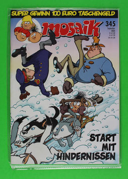 Abrafaxe Variant-Cover Nr. 345 Topzustand & eingeschweißt