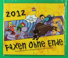 Kalender Abrafaxe  Faxen ohne Ende von 2012 neuwertig & eingeschweißt