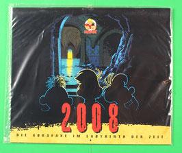 Kalender Abrafaxe   Die Abrafaxe im Labyrinth der Zeit  von 2008 neuwertig & eingeschweißt