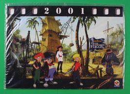 Kalender Abrafaxe   Die Abrafaxe unter schwarzer Flagge  von 2001  neuwertig & eingeschweißt