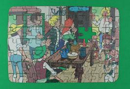 Abrafaxe schönes Puzzle aus DDR-Zeiten Nr. II - ein fehlendes Puzzle-Teil