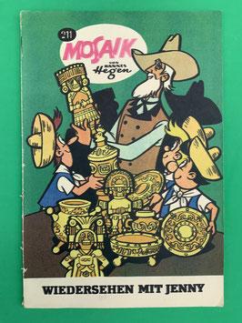 Original Mosaik der Digedags Fehldruck Nummer 211