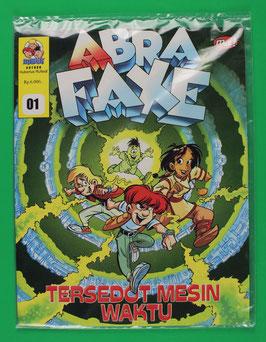 Die Abrafaxe indonesische Ausgabe Nr. 1 2001  neuwertig & eingeschweißt