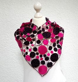 Loop pink/schwarz