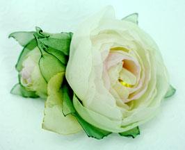 Brosche 2 Blüten