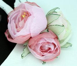 Brosche 3 Blüten