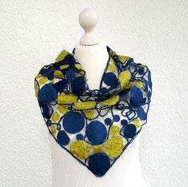 Loop dunkelblau/ gelbgrün