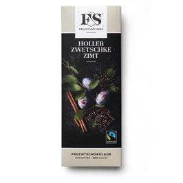 Frucht & Sinne Dunkle Holler-Zwetschke-Zimt 50 g