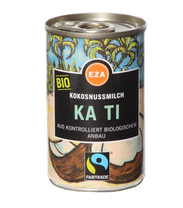 Fairtrade KA TI Kokosmilch 400 ml kbA