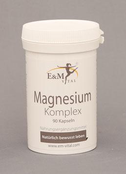E&M Vital Magnesium Komplex  90 Kapseln
