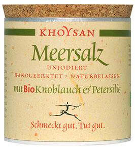 Khoysan Meersalz mit Bio Knoblauch & Petersilie