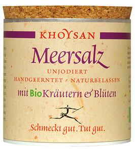 Khoysan Meersalz mit Bio Kräutern & Blüten