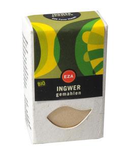 EZA Ingwer gemahlen 30 g kbA