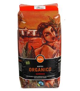 Fairtrade Kaffee Organico Espresso Bohne 500 g kbA