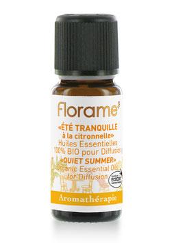 Florame - Quiet Summer/Ruhiger Sommer Bio ätherische Duftmischung 10 ml