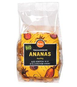 Fairtrade Ananas getrocknet 70 g kbA