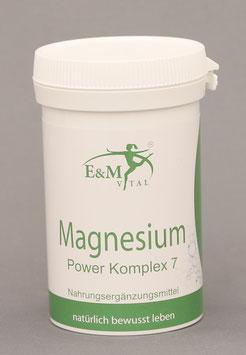 E&M Vital Magnesium Power Komplex 7 60 Kapseln