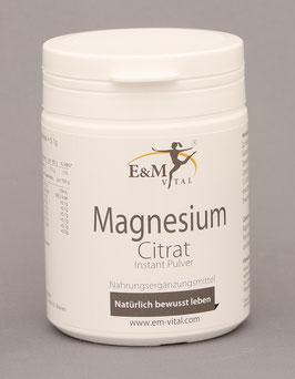 E&M Vital Magnesium Citrat Pulver 175 g